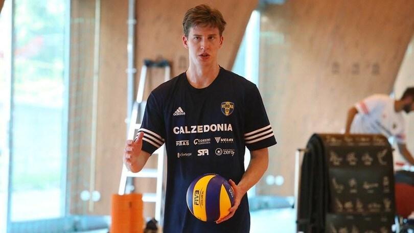 Volley: A2 Maschile, Sam Holt è un giocatore di Ortona