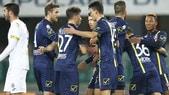 Coppa Italia Chievo-Novara 3-0: bis Inglese, poi Cesar