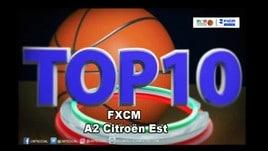 FXCM Top 10 Serie A2 Citroën Est - 9^ giornata