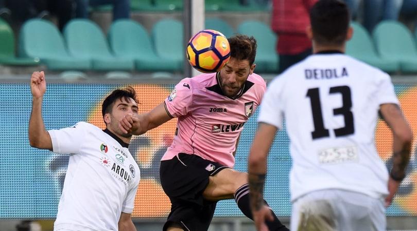 Coppa Italia, Palermo-Spezia 4-5 dcr: Di Carlo si prende il Napoli