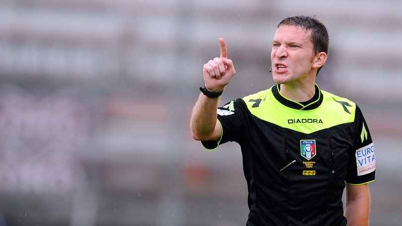 Serie B Pordenone-Benevento: dirige Serra. Crotone-Juve Stabia: Baroni