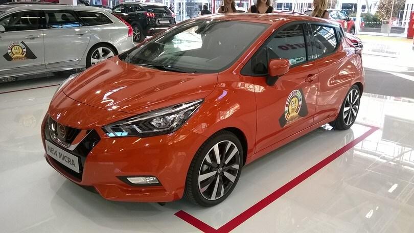 Motor Show, Nissan Micra in anteprima italiana