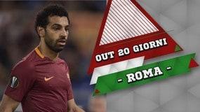 Roma, Salah torna a febbraio
