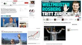 Rosberg, il clamoroso ritiro: le reazioni dal mondo