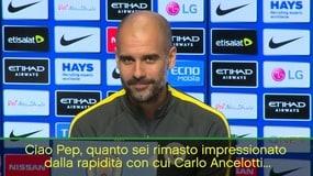 Lapsus del reporter: scambia Conte con Ancelotti