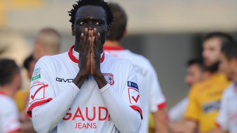 Serie B Carpi, un turno di squalifica per Mbaye