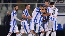 Serie A, Caprari salva il Pescara: 1-1 col Cagliari in 10