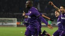 Serie A, Babacar al 93': la Fiorentina vince 2-1 col Palermo