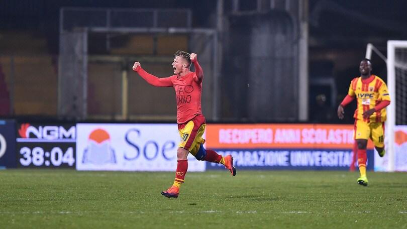 Serie B, Benevento-Cesena 2-1: magia di Ciciretti e dedica al nonno
