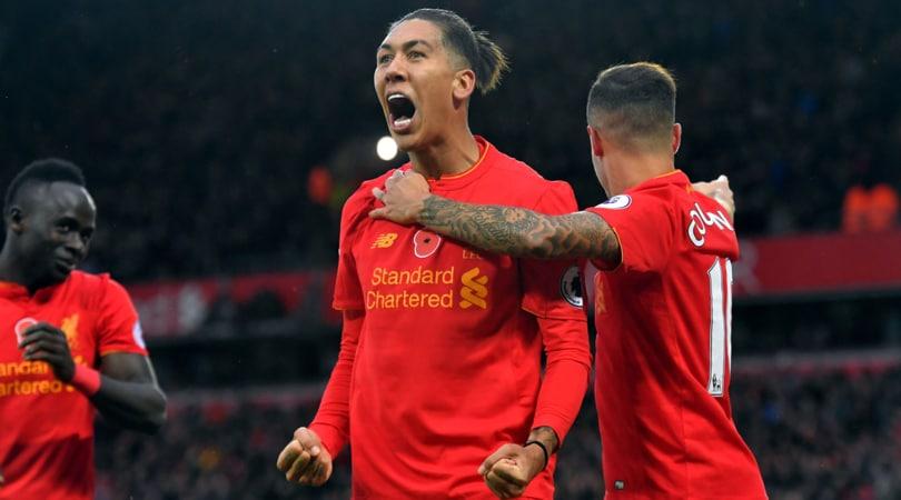 Liverpool: per Firmino clausola valida per tutti tranne l'Arsenal