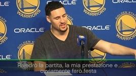 """Thompson: """"Non pensavo di poter fare 60 punti"""""""