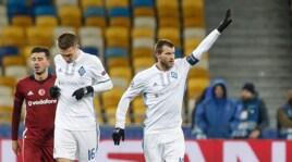 Dinamo Kiev-Besiktas 6-0, le immagini del match