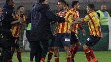 Lega Pro Messina-Lecce 0-3. Giallorossi da soli in vetta