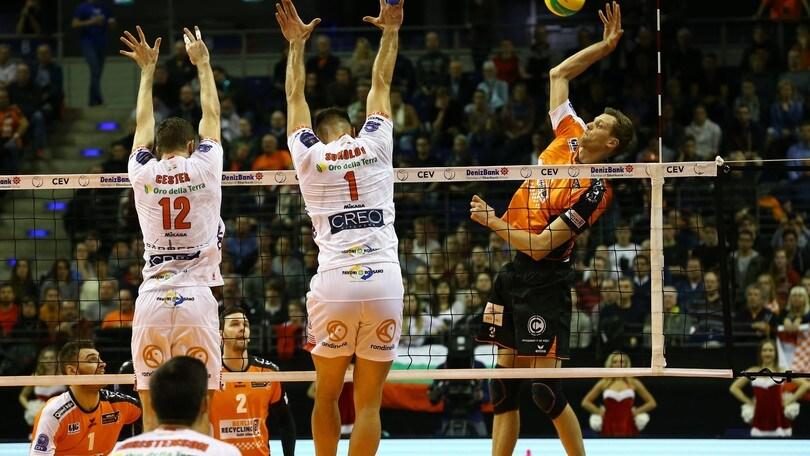 Volley: Champions League, Civitanova cade a Berlino