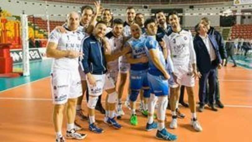Volley: A2 Maschile, Girone Bianco troppo Siena per il Club Italia