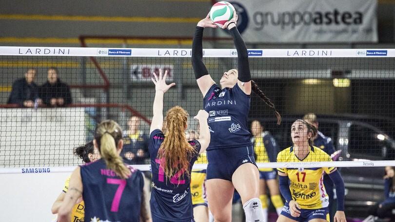 Volley: A2 Femminile, Filottrano prosegue la marcia, Pesaro si riscatta