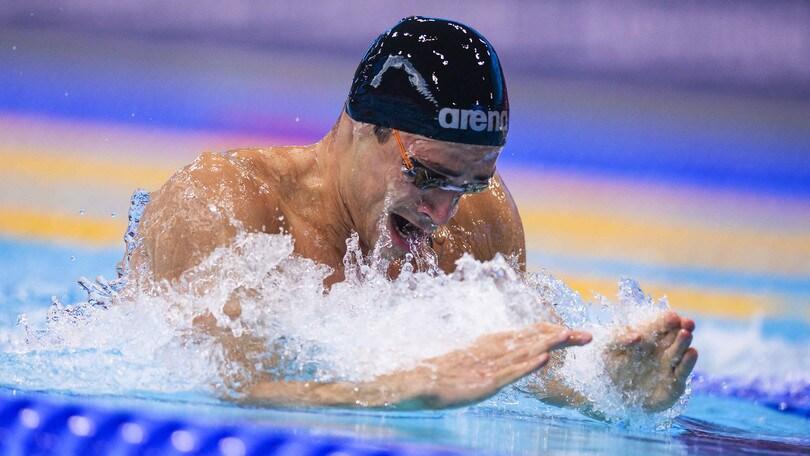 Mondiali in vasca corta, Scozzoli conquista il bronzo nei 100 rana