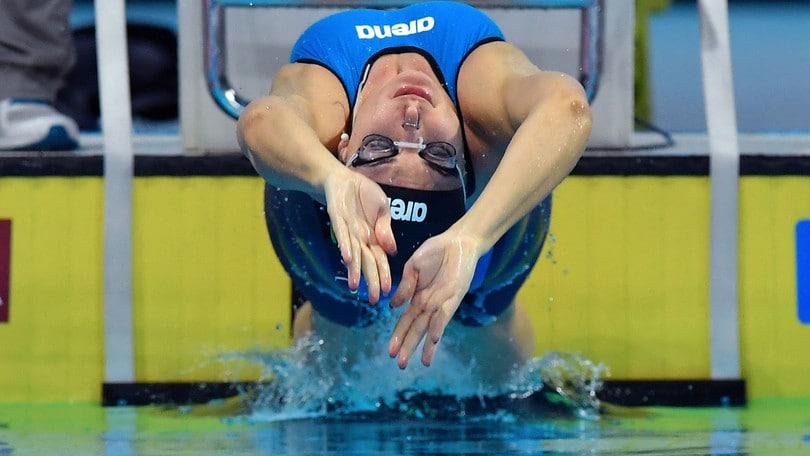 Mondiali in vasca corta: argento per le azzurre nella 4x50 mista
