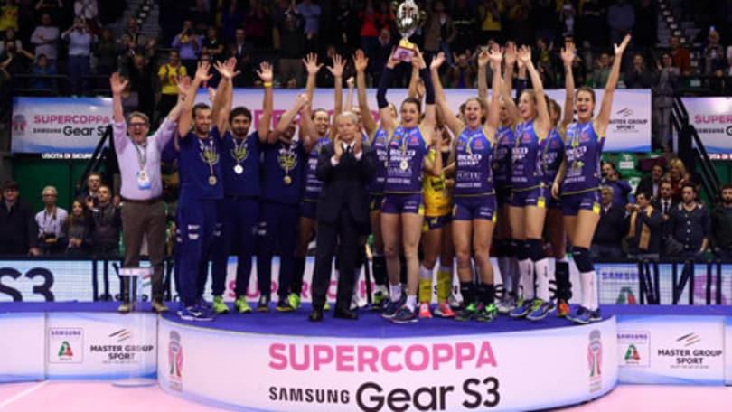 Volley: Conegliano alza la Supercoppa