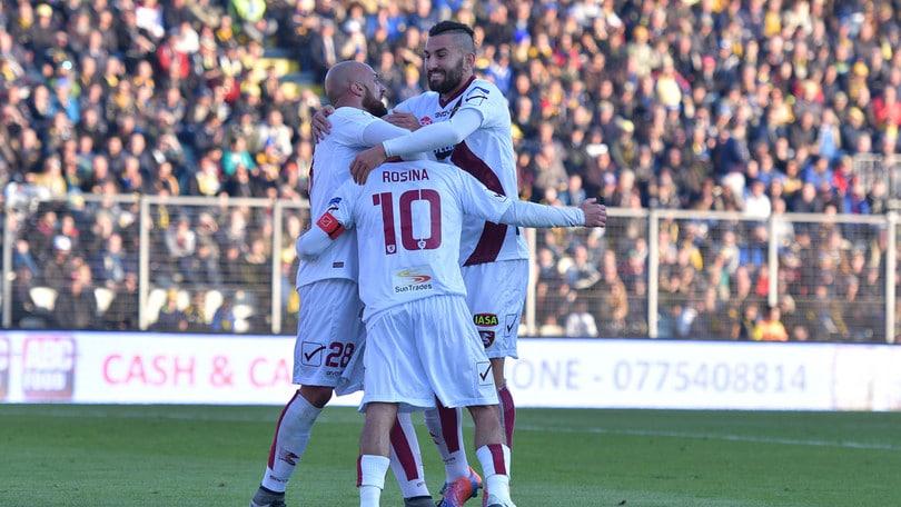 Serie B, Salernitana-Carpi: amaranto a 2,30 per il successo