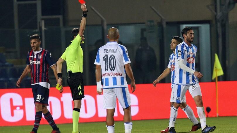 Pescara, i tifosi contestano la squadra: «Vergognatevi»