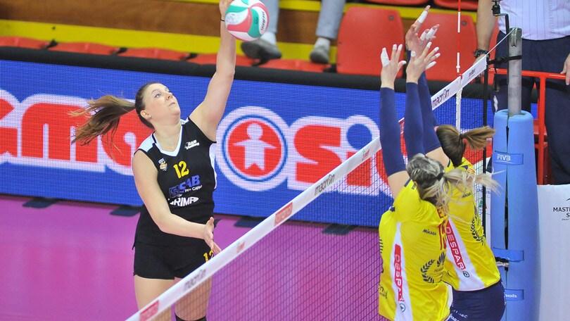 Volley: A2 Femminile, per Legnano terza vittoria in una settimana