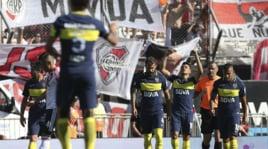 Il Boca Juniors rimonta e stende il River Plate: che doppietta Tevez