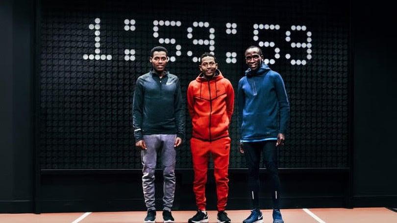 Nike lancia Breaking2 per ridurre le due ore nella maratona