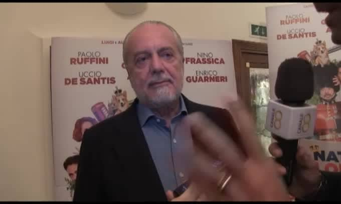 """De Laurentiis: """"Higuain limita la squadra"""""""