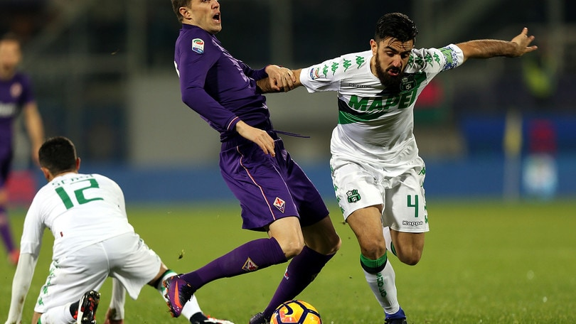 Serie A Sassuolo, lesione ai legamenti per Magnanelli e Cannavaro