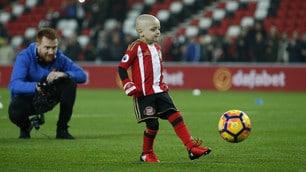 Sunderland: il piccolo, grande Bradley commuove l'Inghilterra