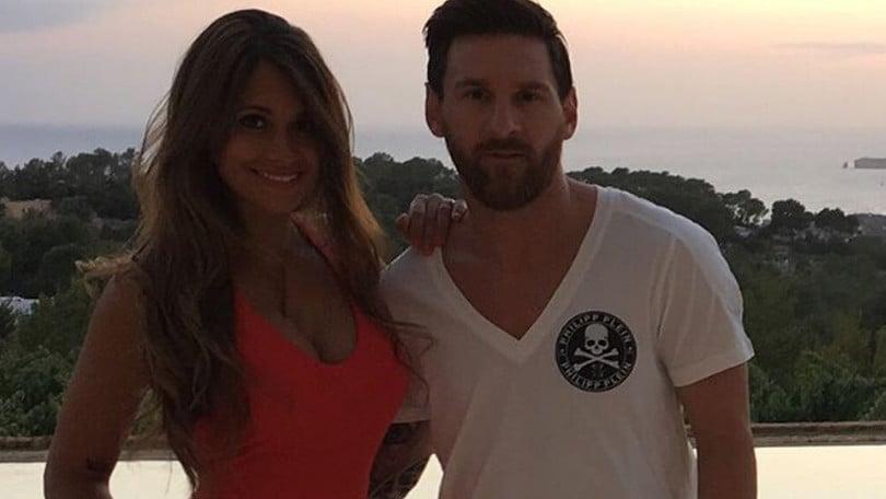 Messi si sposa: nozze in Argentina con la sua Antonella