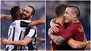 Juventus-Roma, è anche una questione di numeri