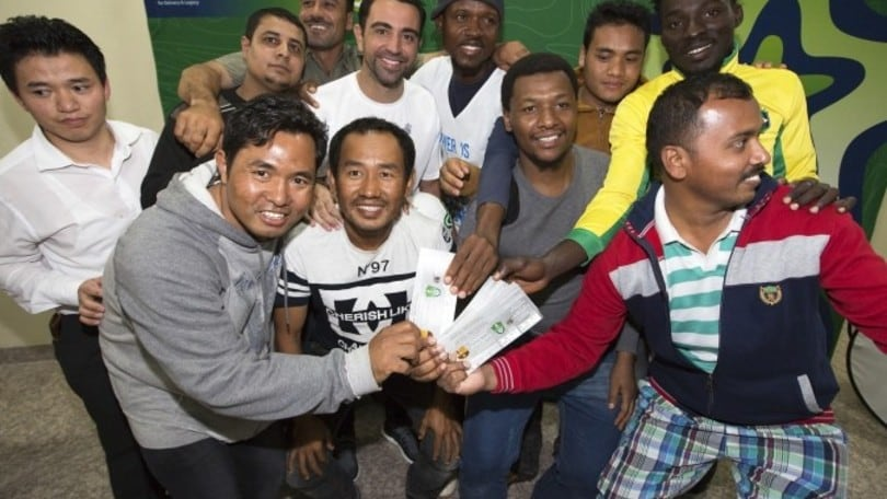 Xavi ha regalato i biglietti per Barça-Al Ahli