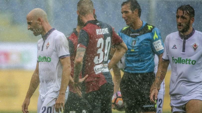 Serie A Genoa-Fiorentina, formazioni ufficiali e tempo reale alle 20