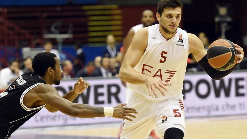 Olimpia Milano, Alessandro Gentile lascia: andrà in prestito