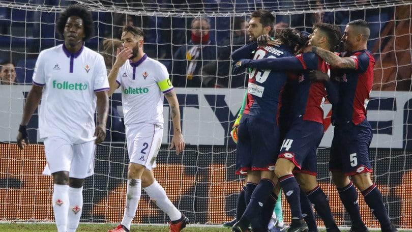 Serie A, Genoa-Fiorentina 1-0: decide Lazovic al 37'