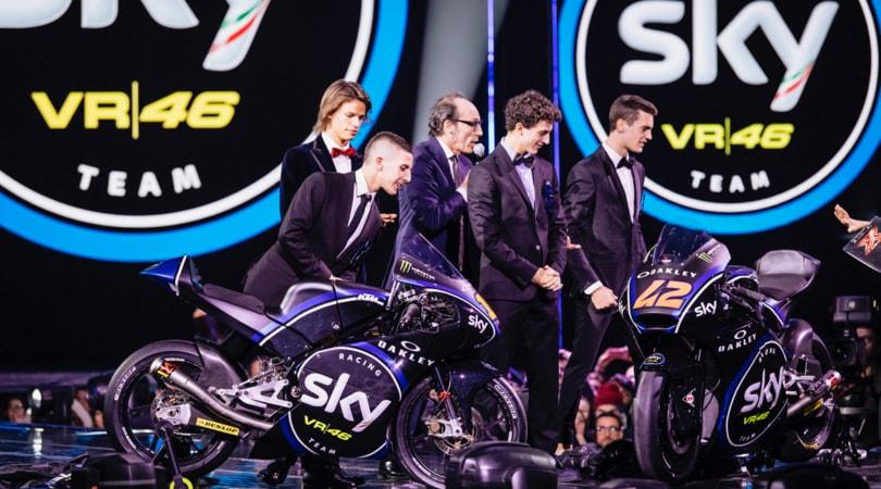 VR46 e Sky Racing Team alla finale di XFactor