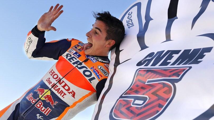 MotoGp, Marquez: «Sarà difficile eguagliare Agostini»