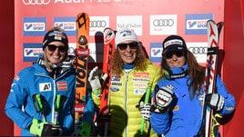 Goggia, un altro podio: terza nella discesa in Val d'Isere