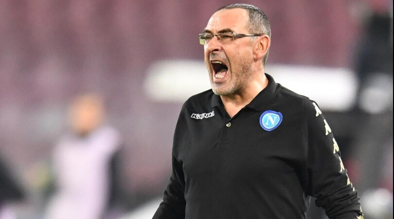 Napoli, Sarri: «Real Madrid, sfida quasi proibitiva. Rigori? Noi zero, la Roma 8»