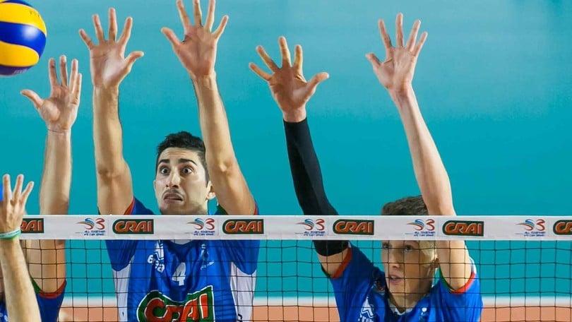 Volley: A2 Maschile Girone Bianco, prima vittoria per il Club Italia