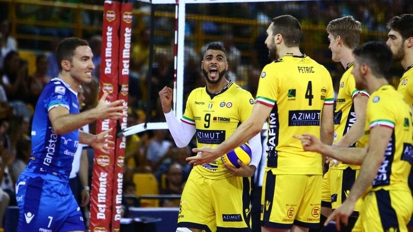 Volley: Champions League, in campo Modena, Civitanova e Perugia