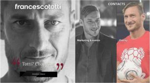 Roma, online il nuovo sito di Francesco Totti: la storia continua