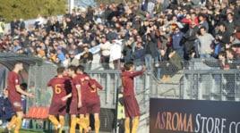 Roma-Lazio 5-0: dominio romanista nel derby Primavera