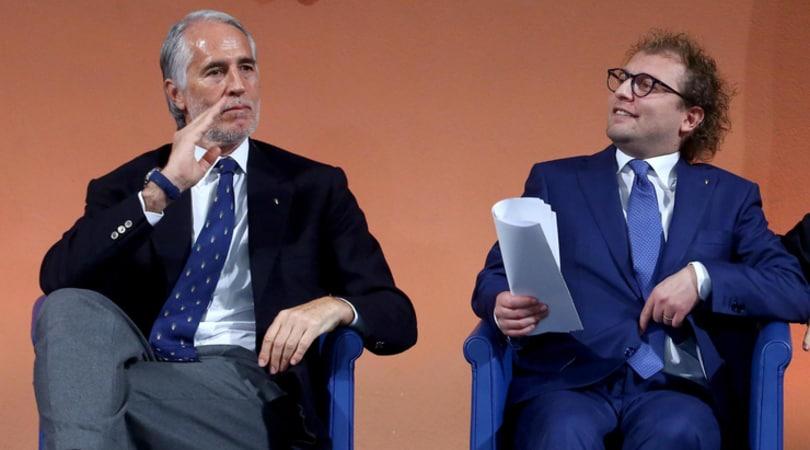Coni, Lotti incontra Malagò: «Ora cominciamo a lavorare»