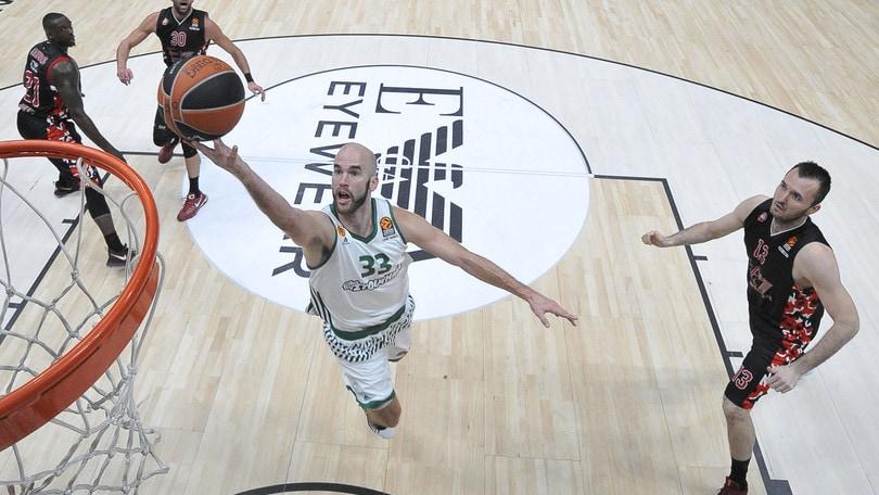 Basket Eurolega, Milano crolla con il Panathinaikos