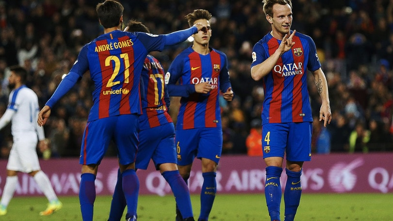 Coppa del Re, il Barcellona saluta il 2016 con sette reti