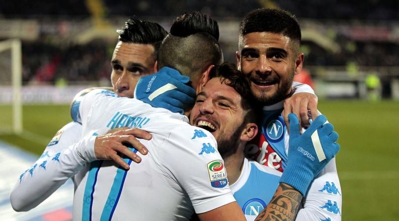 Diretta Napoli-Sampdoria, probabili formazioni tempo reale ore 20.45