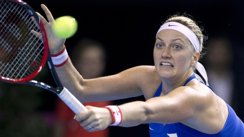 Tennis, Petra Kvitova torna a casa dopo l'operazione alla mano